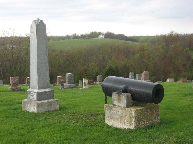 GAR Monument and Cannon