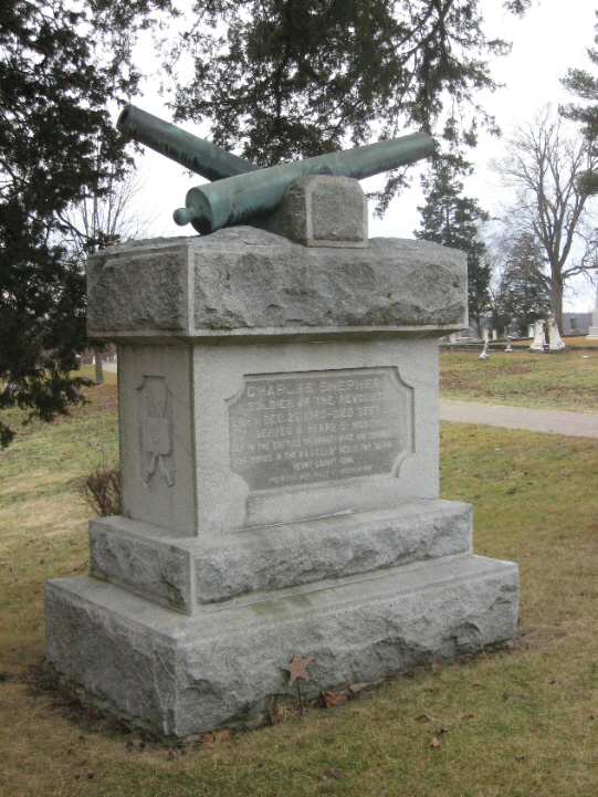 Memorial to Revolutionary War Veteran