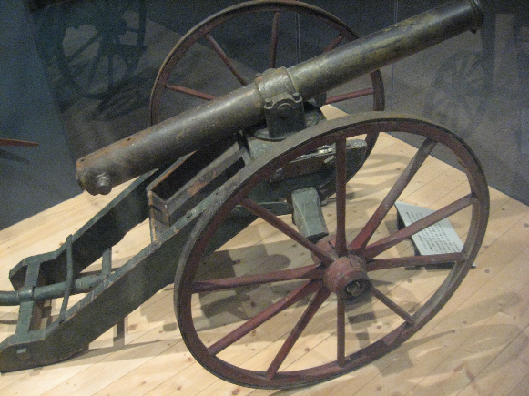 Cannons in State Historical Museum of Iowa