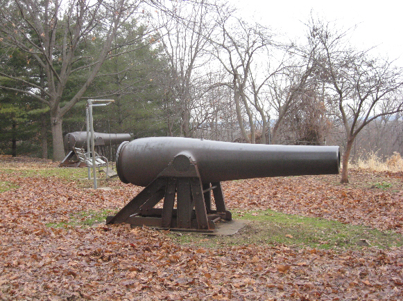 Rodman Cannons in Weed Park