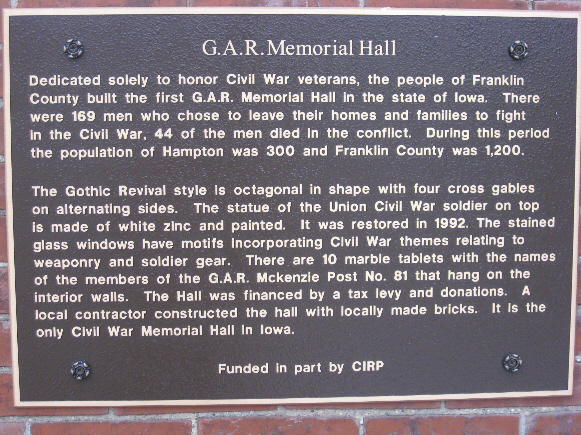 Hampton GAR Hall
