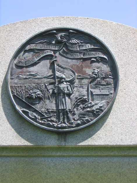 Iowa 16th Infantry Regiment Monument