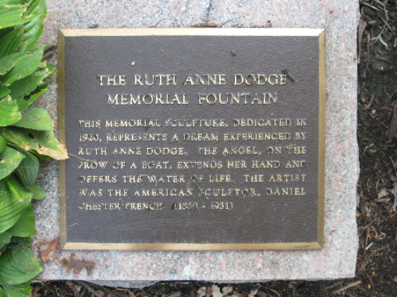 The Black Angel - Ruth Anne Dodge Memorial