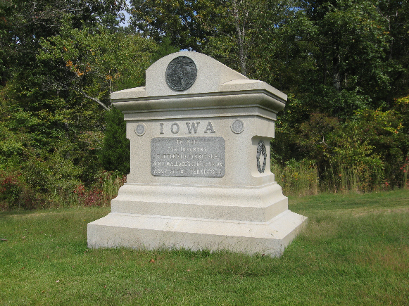 Iowa 7th Infantry Regiment Monument