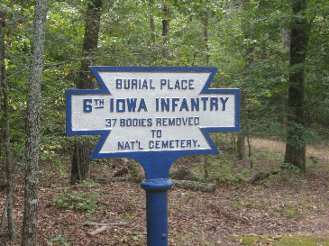 Iowa 6th Infantry Regiment Monument