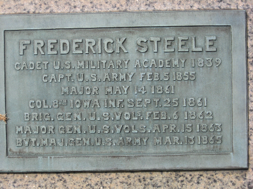 General Frederick Steele Statue
