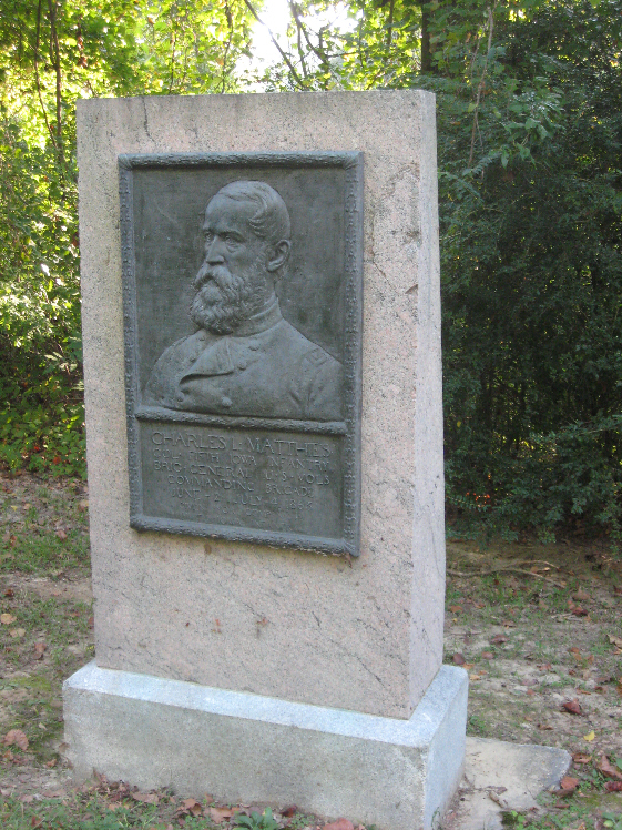 General Charles L. Matthies Sculpture