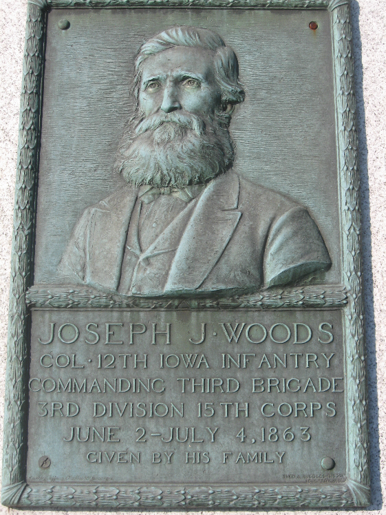 Col. Joseph J. Woods Sculpture
