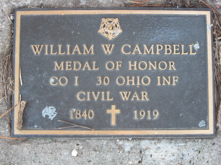 Medal of Honor Recipient Pvt. William Campbell