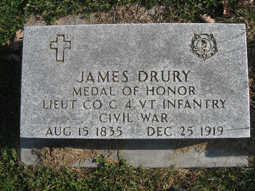 Medal of Honor Recipient James John Drury