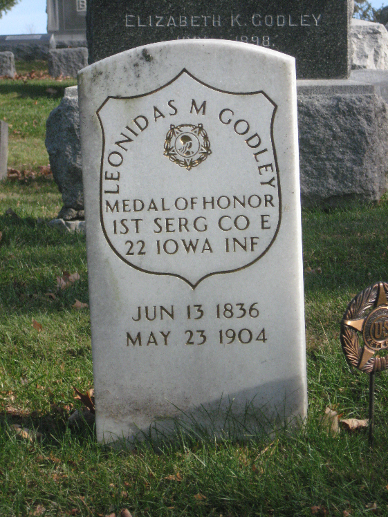 Medal of Honor Recipient Leonidas Godley