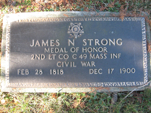 Medal of Honor Recipient James Strong