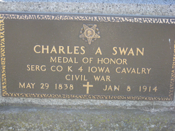 Medal of Honor Recipient Charles Swan