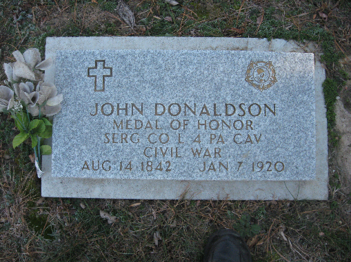 Medal of Honor Recipient John Donalson