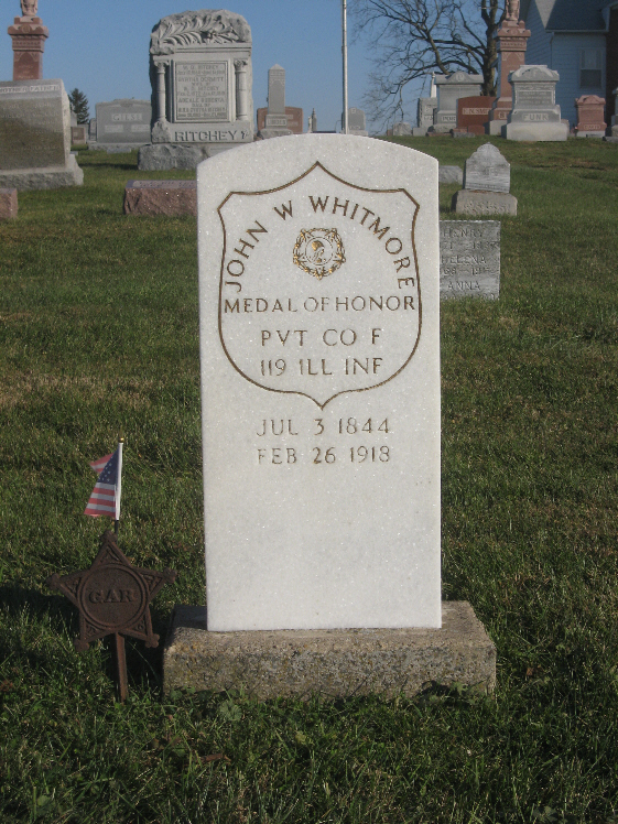 Medal of Honor Recipient  John Whitmore