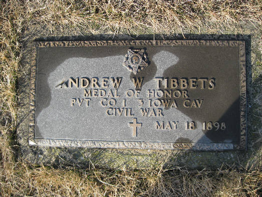 Medal of Honor Recipient Andrew W. Tibbets