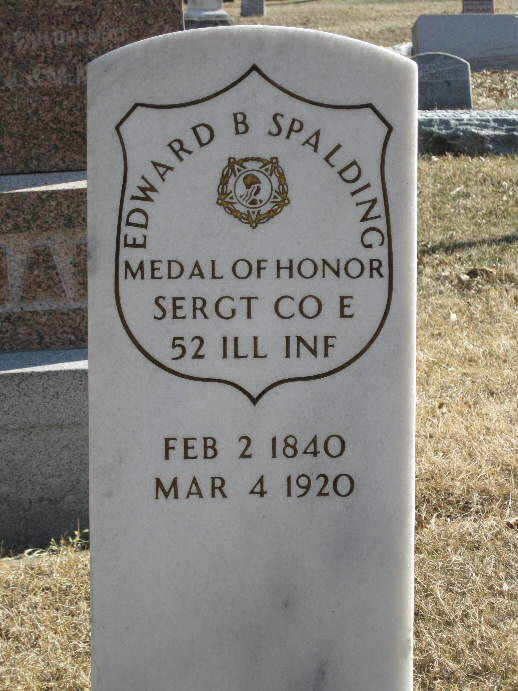 Medal of Honor Recipient Edward Burson Spalding
