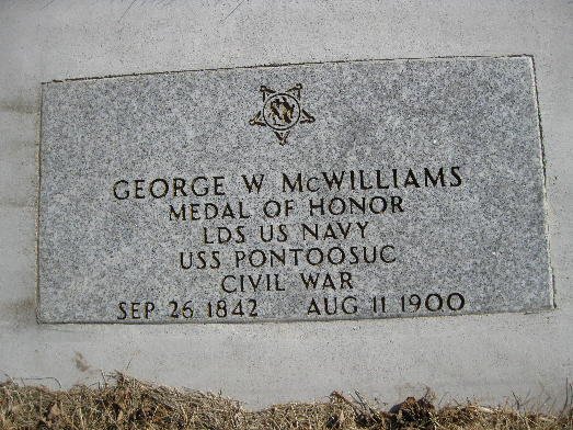 Medal of Honor Recipient George W. Mc Williams