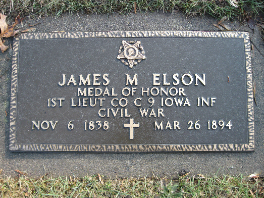 Medal of Honor Recipient James M. Elson