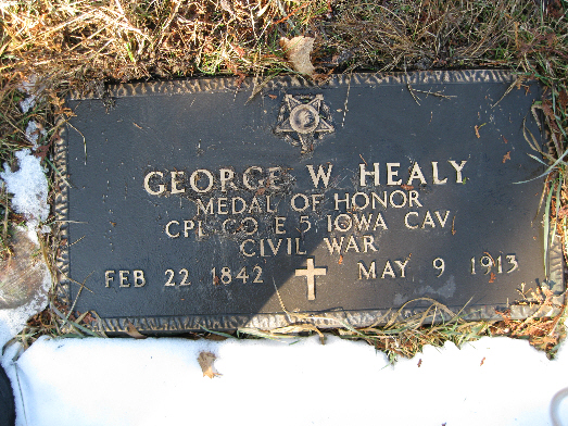 Medal of Honor Recipient George Washington Healey