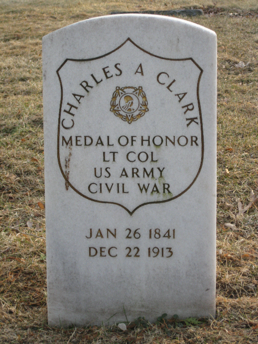 Medal of Honor Recipient Charles A. Clark