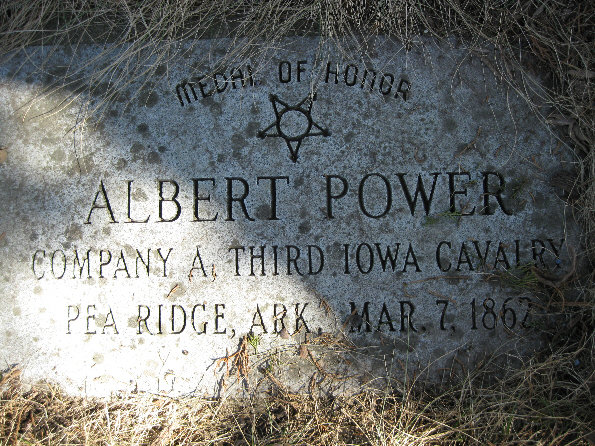 Medal of Honor Recipient Albert Power
