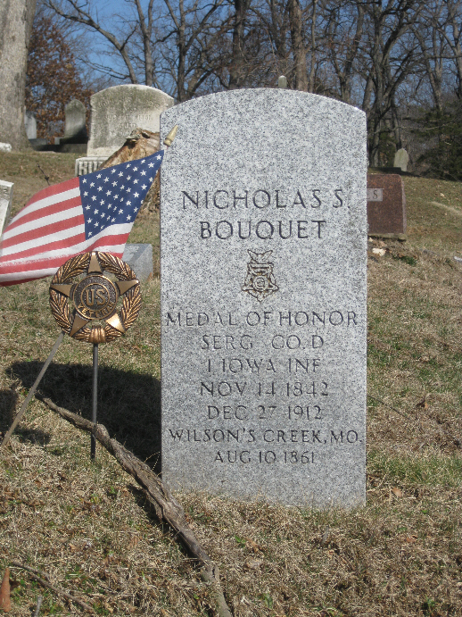 Medal of Honor Recipient Nicholas Bouquet