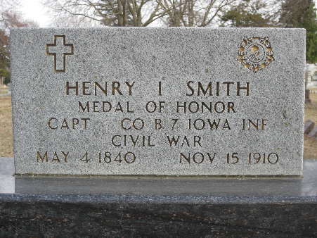 Medal of Honor Recipient Henry I. Smith