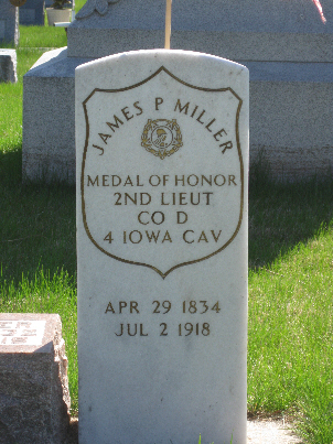 Medal of Honor Recipient James P. Miller