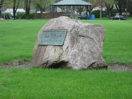 Camp Burnside Marker