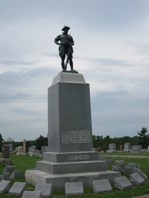 Cemetery Civil War Monument