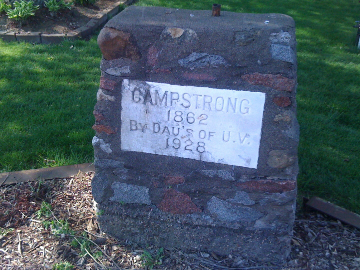 Camp Strong Marker