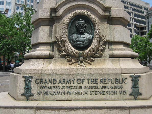 Benjamin Franklin Stephenson and GAR Memorial