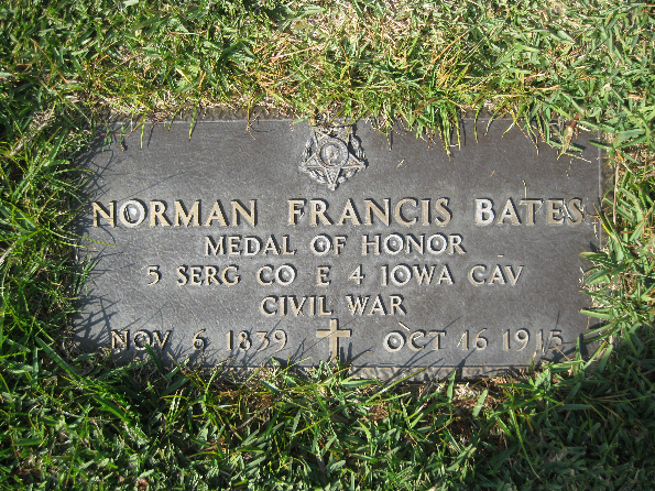 Medal of Honor Recipient Norman Francis Bates