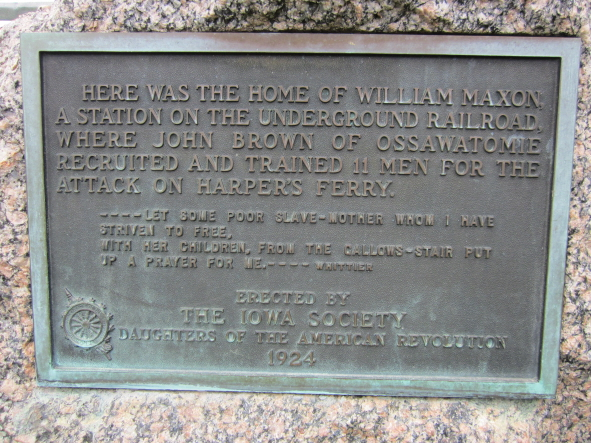 Maxson House where John Brown Stayed