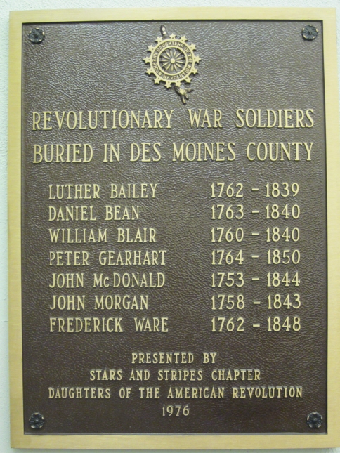 Courthouse Civil War Plaque