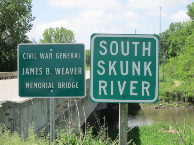 Weaver Memorial Bridge on GAR Highway
