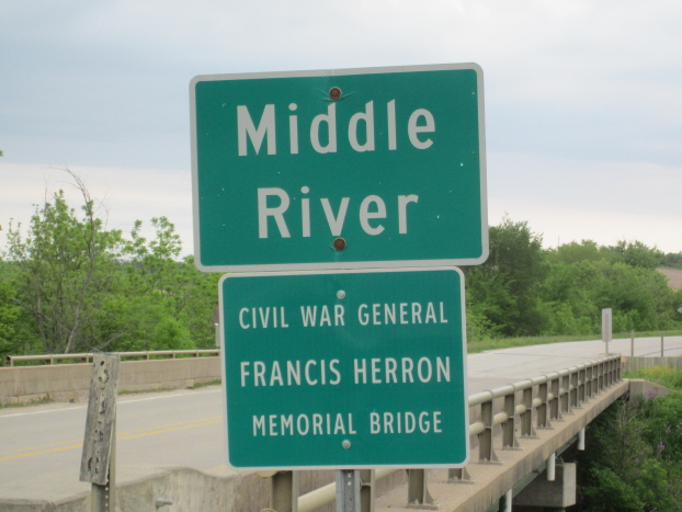 Herron Memorial Bridge on GAR Highway