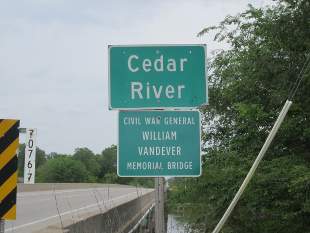 Vandever Memorial Bridge on GAR Highway