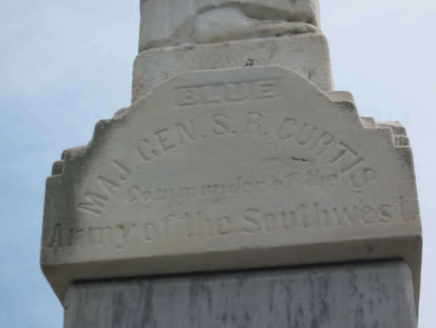 Pea Ridge Reunited Soldiery Monument