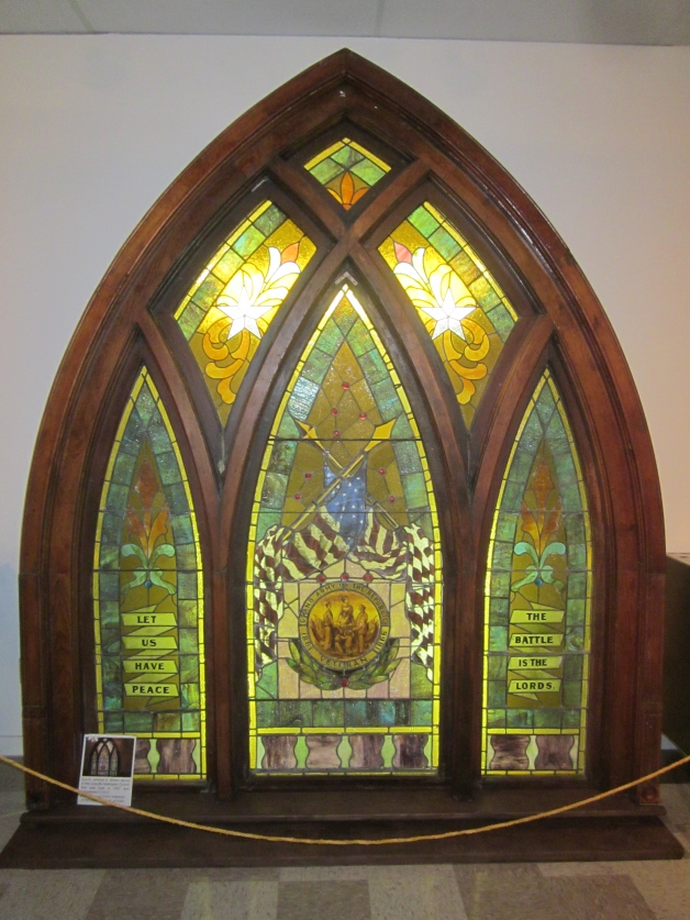 GAR Stained Glass Window