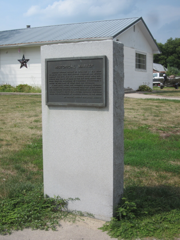 Talley War Plaque