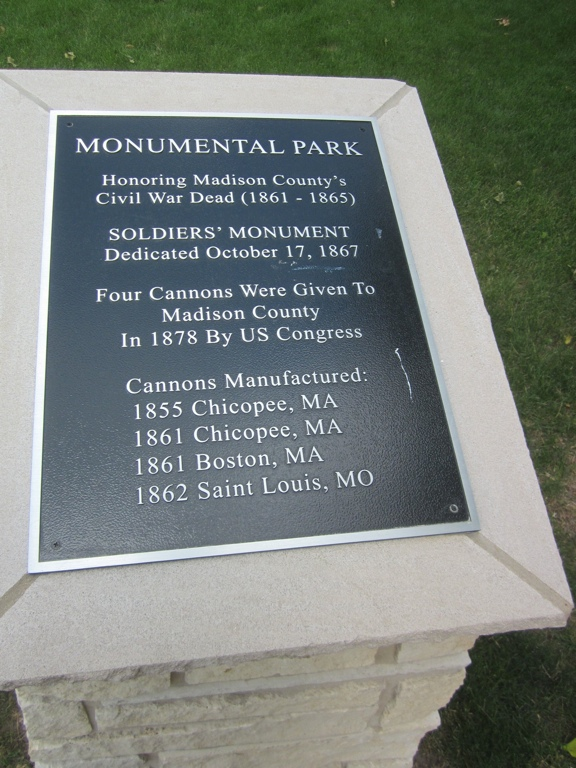 Monumental Park including Cannons
