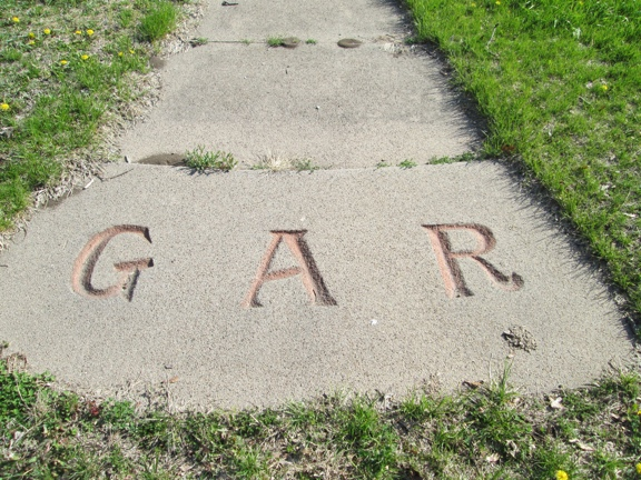 GAR Circle at Fairview Cemetery