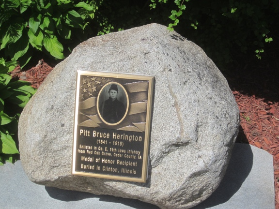Memorial Plaque - Pitt B. Herington