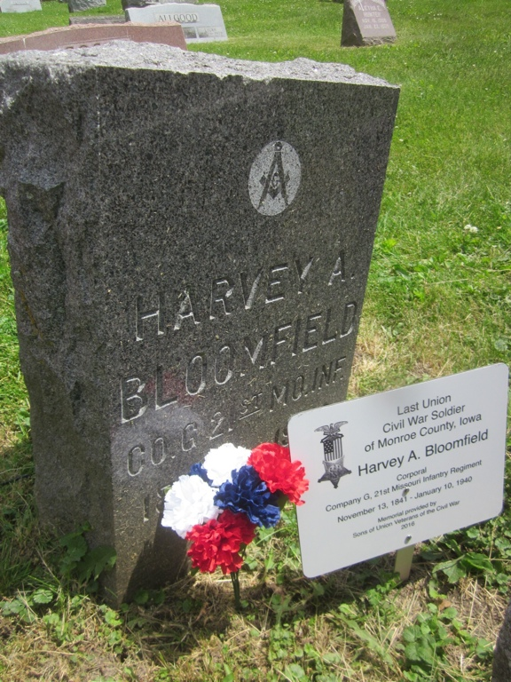 Last Soldier Harvey A. Bloomfield