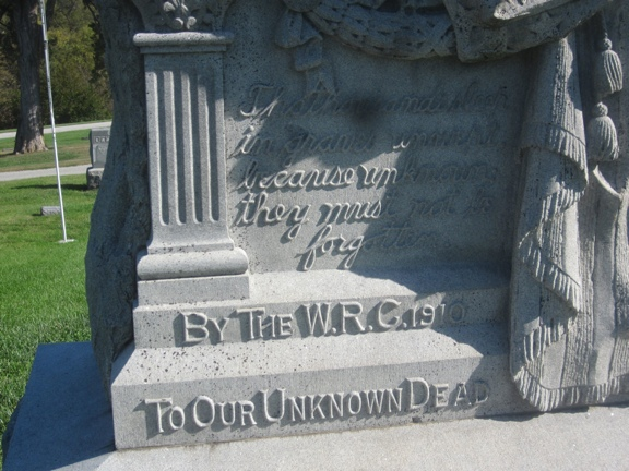 Civil War Monument to Unknown Dead