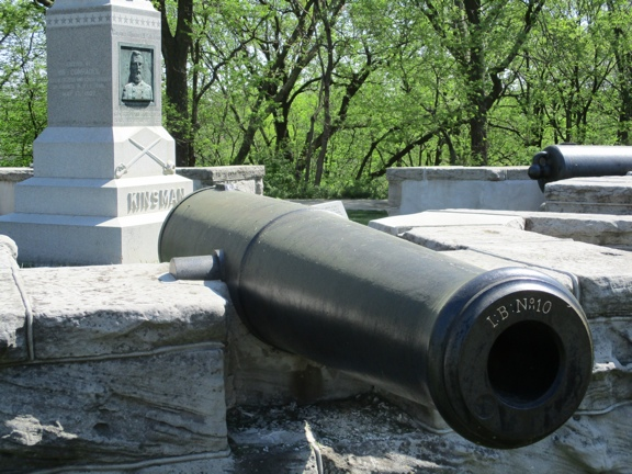 Kinsman Monument and Cannons