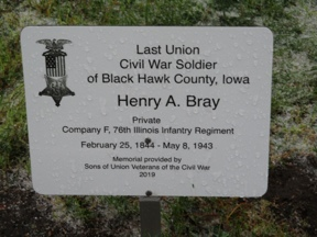 Last Soldier Henry A. Bray